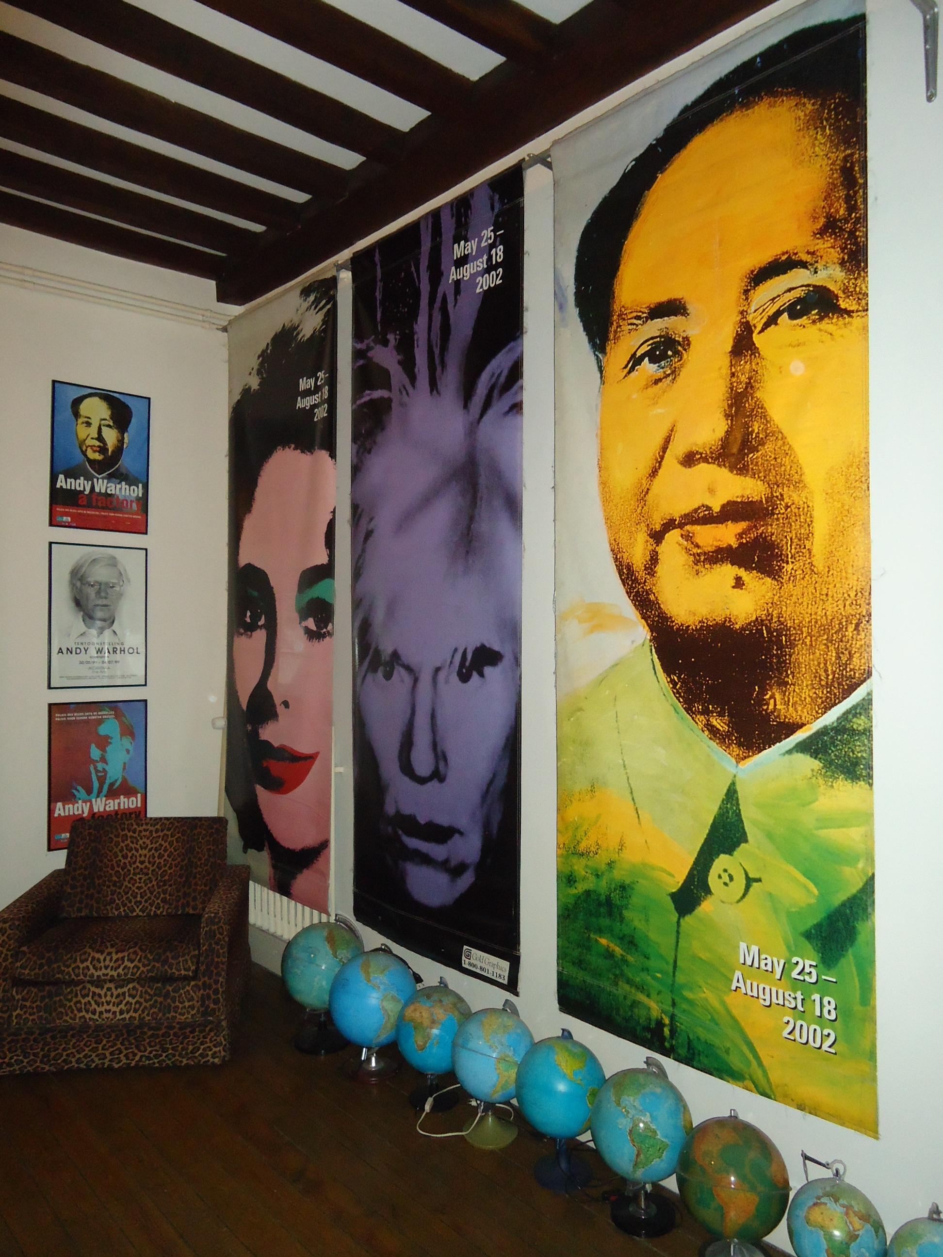Diederik Vandenbilcke's Andy Warhol in Ypres exhibition