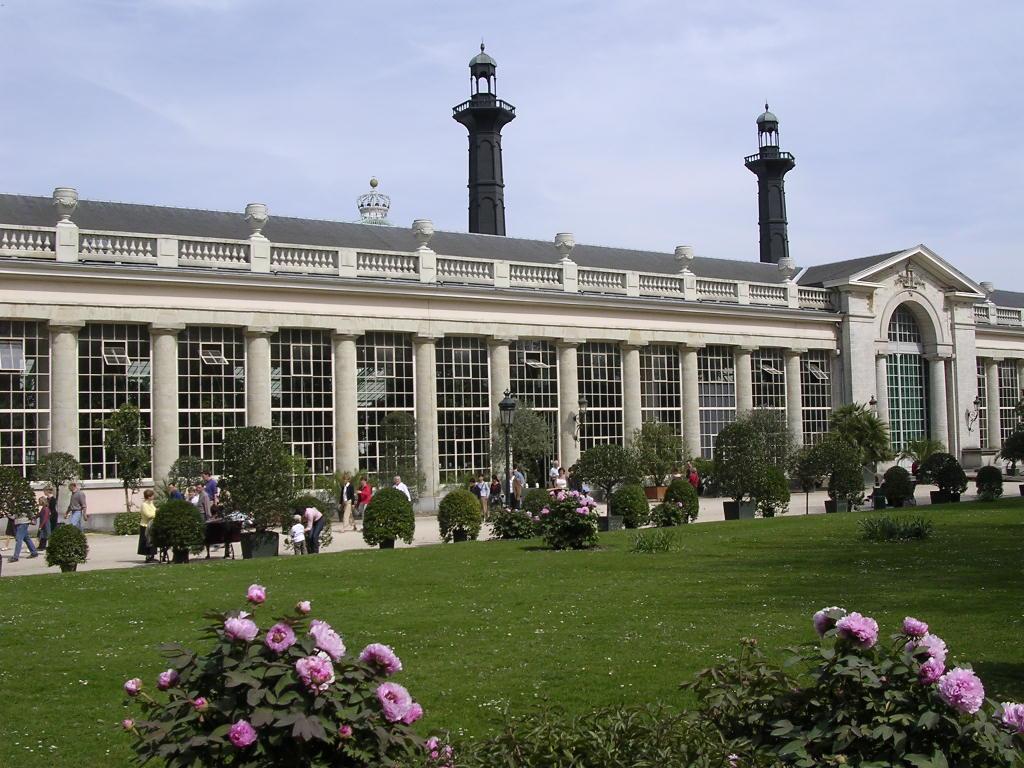 The Royal Greenhouses of Laken