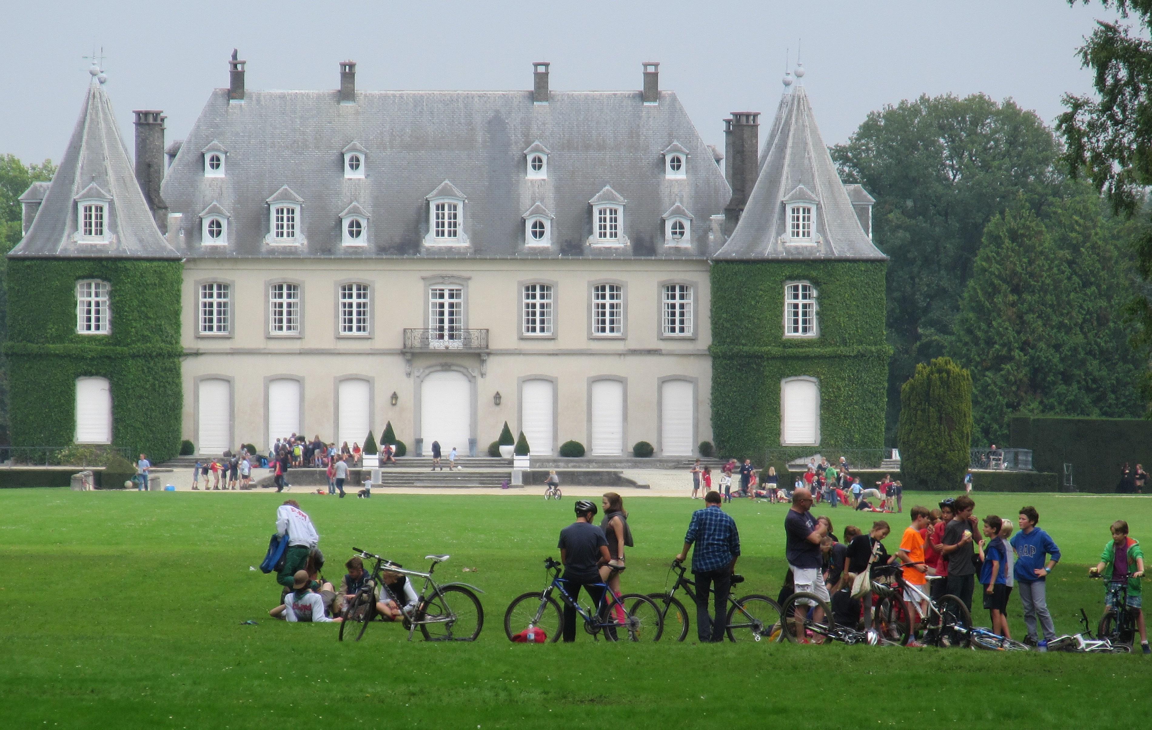 5. Chateau Solvay La Hulpe cyclisme