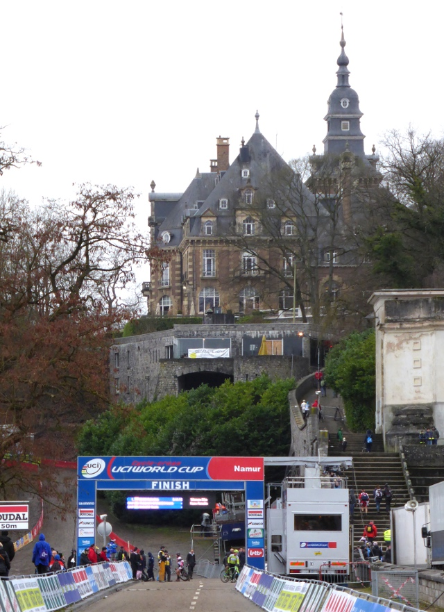 The Namur Citadelle and the World Cup Cyclocross