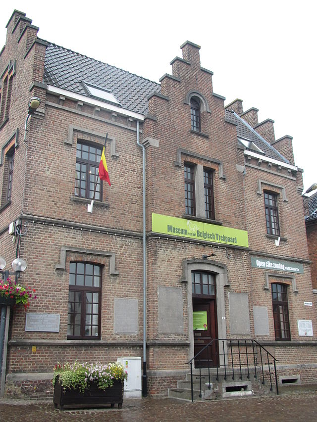 The Belgian draft horse museum in  Vollezele