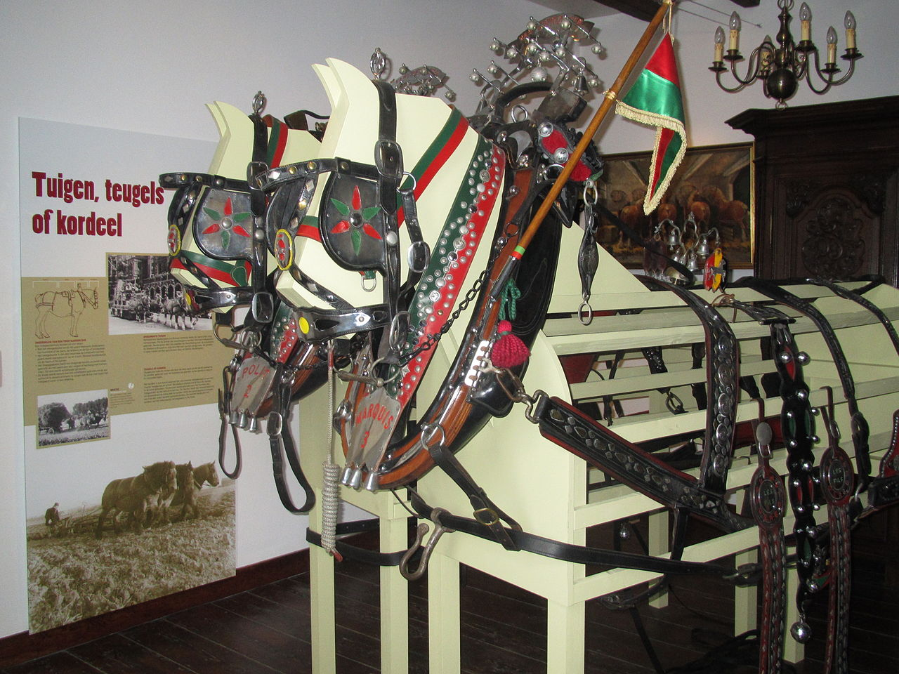 The museum in Vollezele Belgium is a great resource for information on draft horses