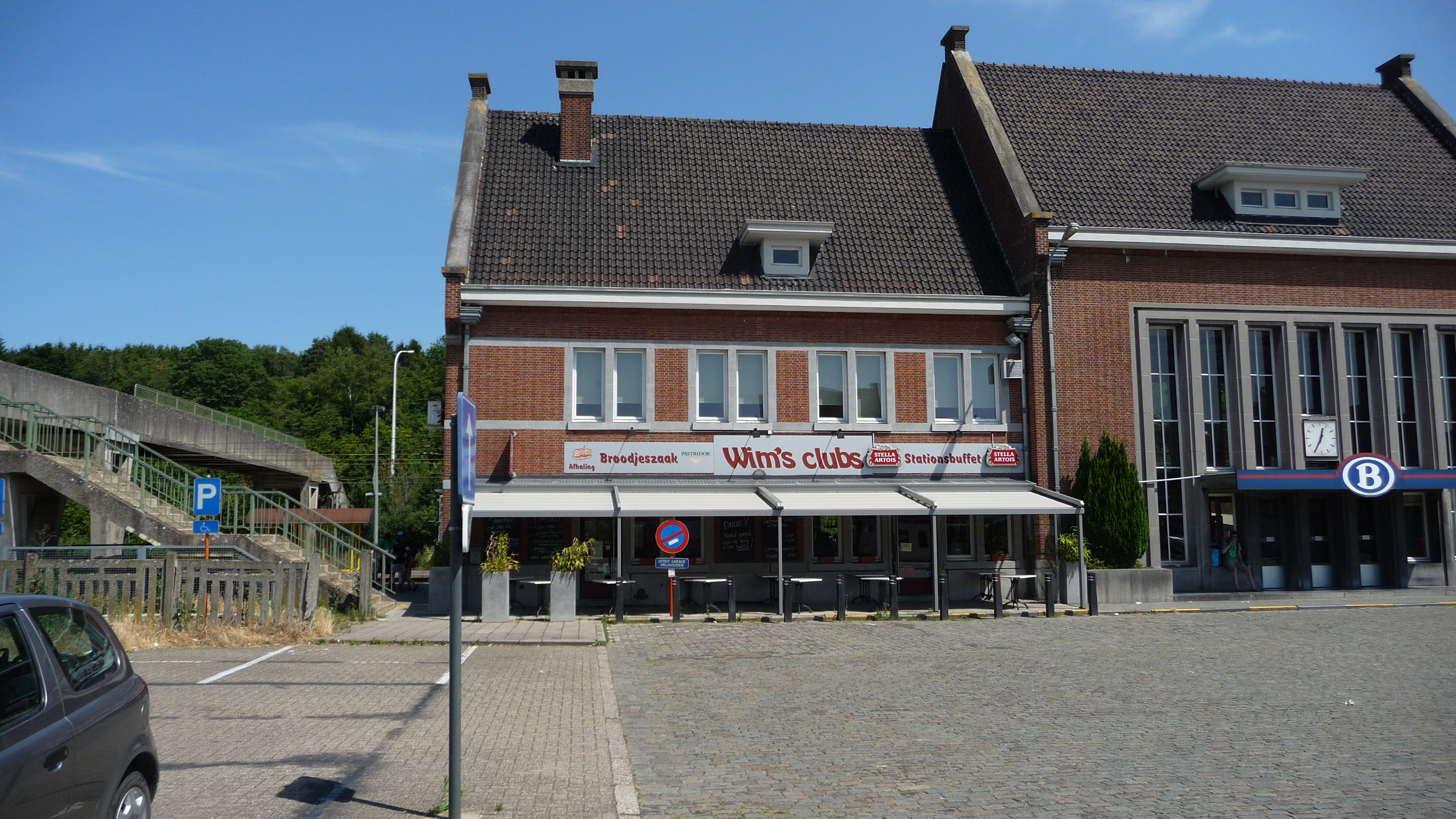Diest railway station: the start of the hike