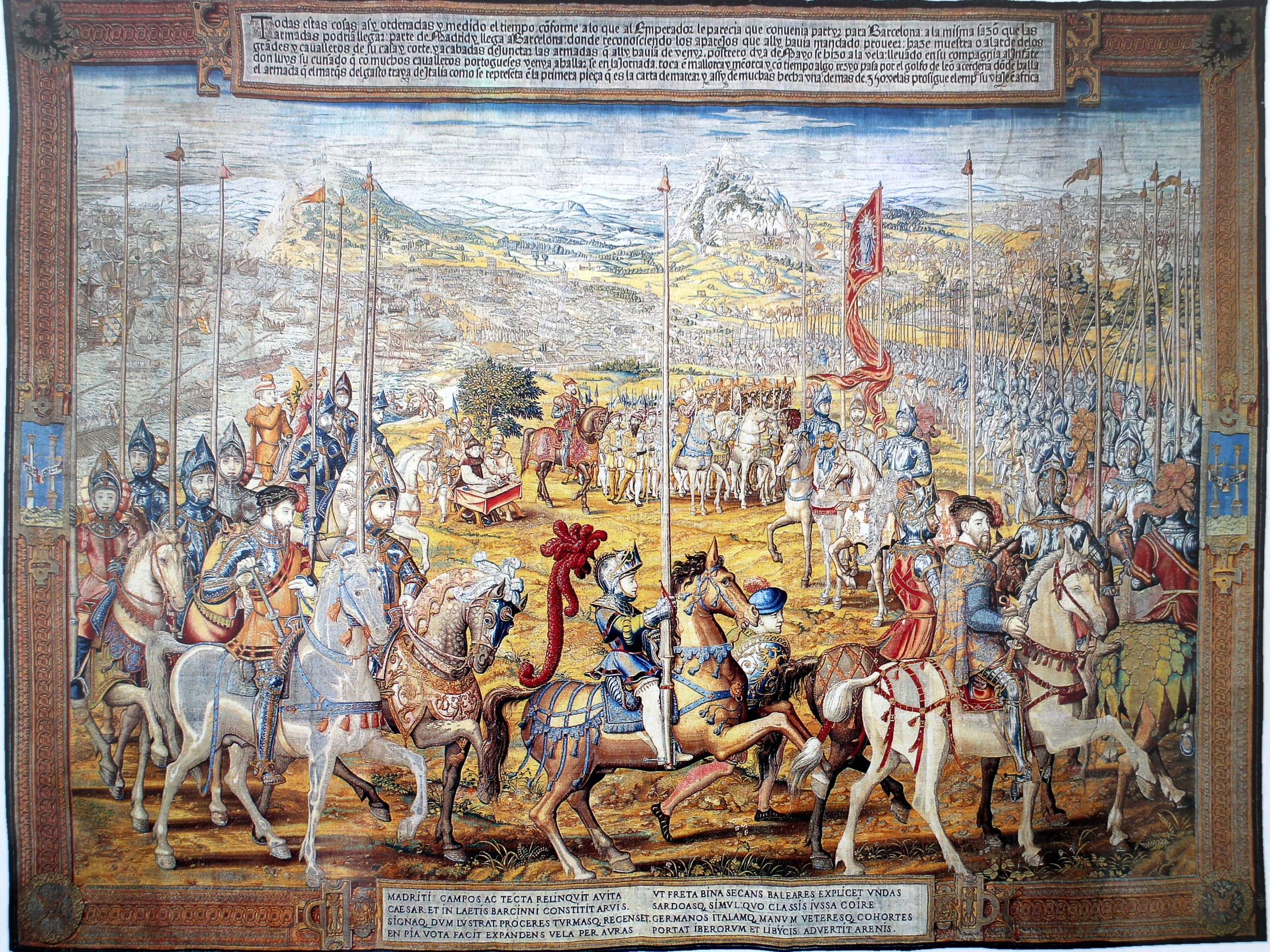 The Conquest of Tunis tapestry, Mechelen