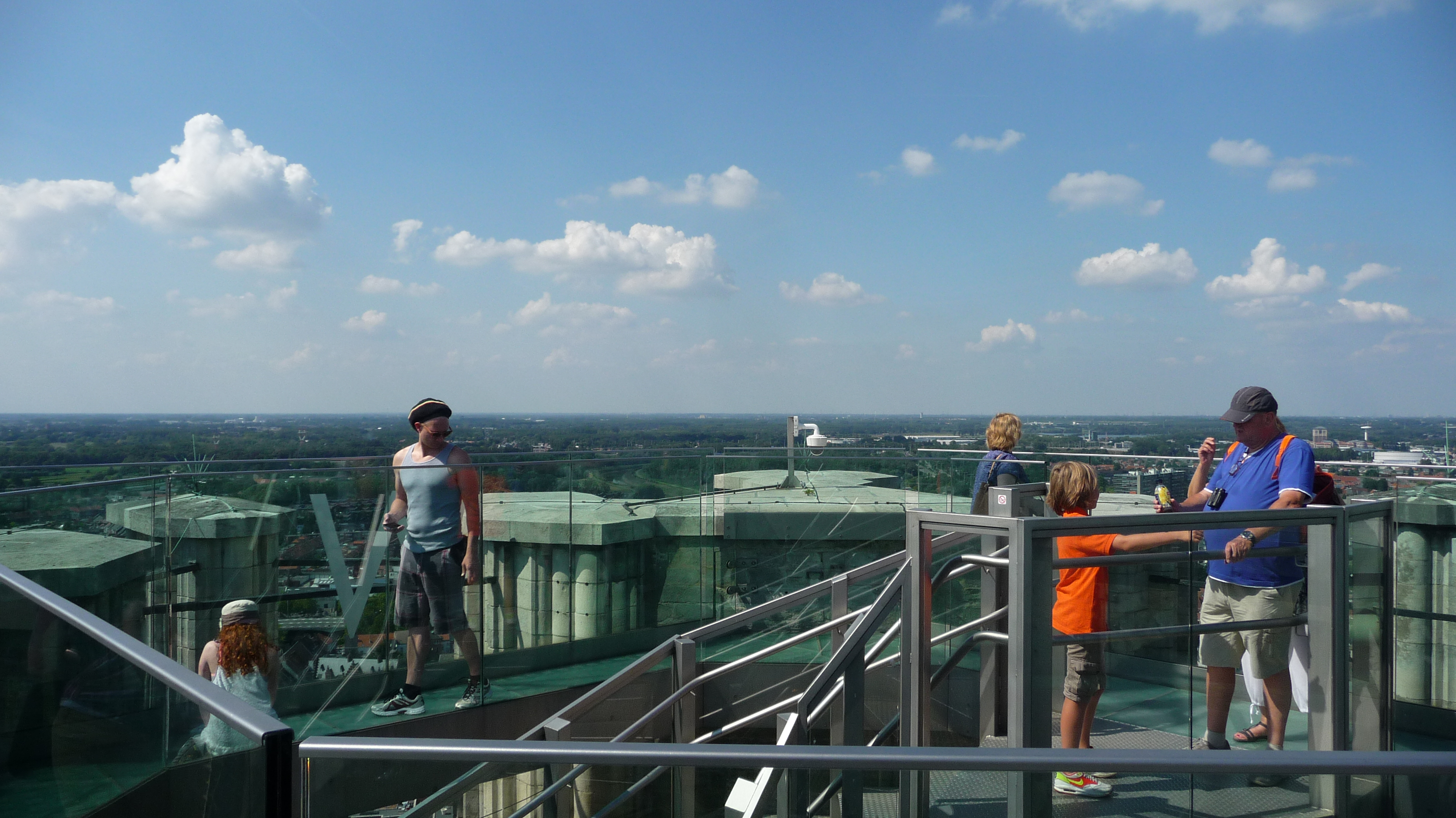 The Skywalk gives you breathtaking views