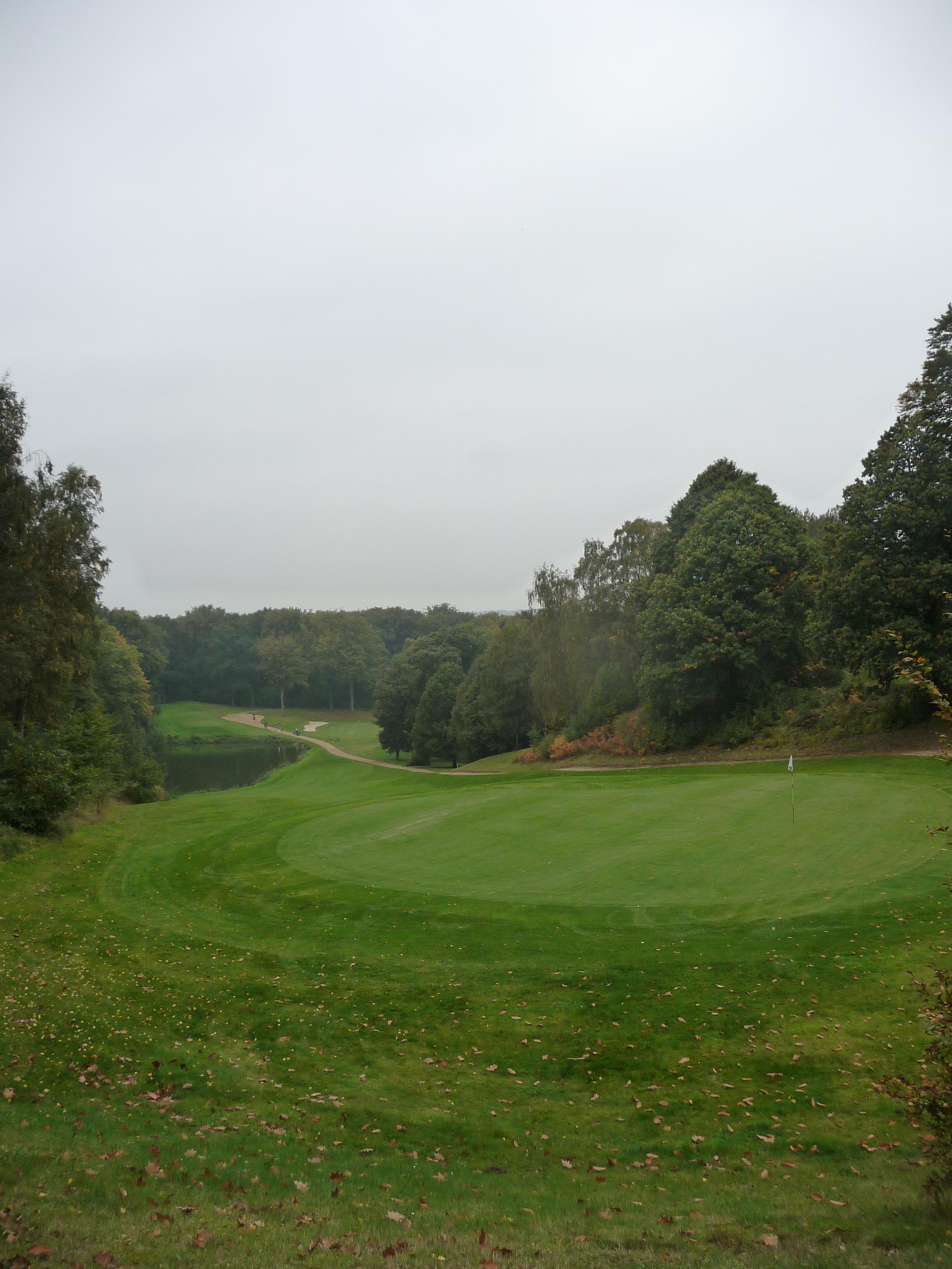 Golf course in Bercuit, Belgium