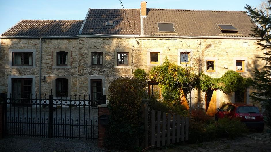 Belgian Ardennes country house