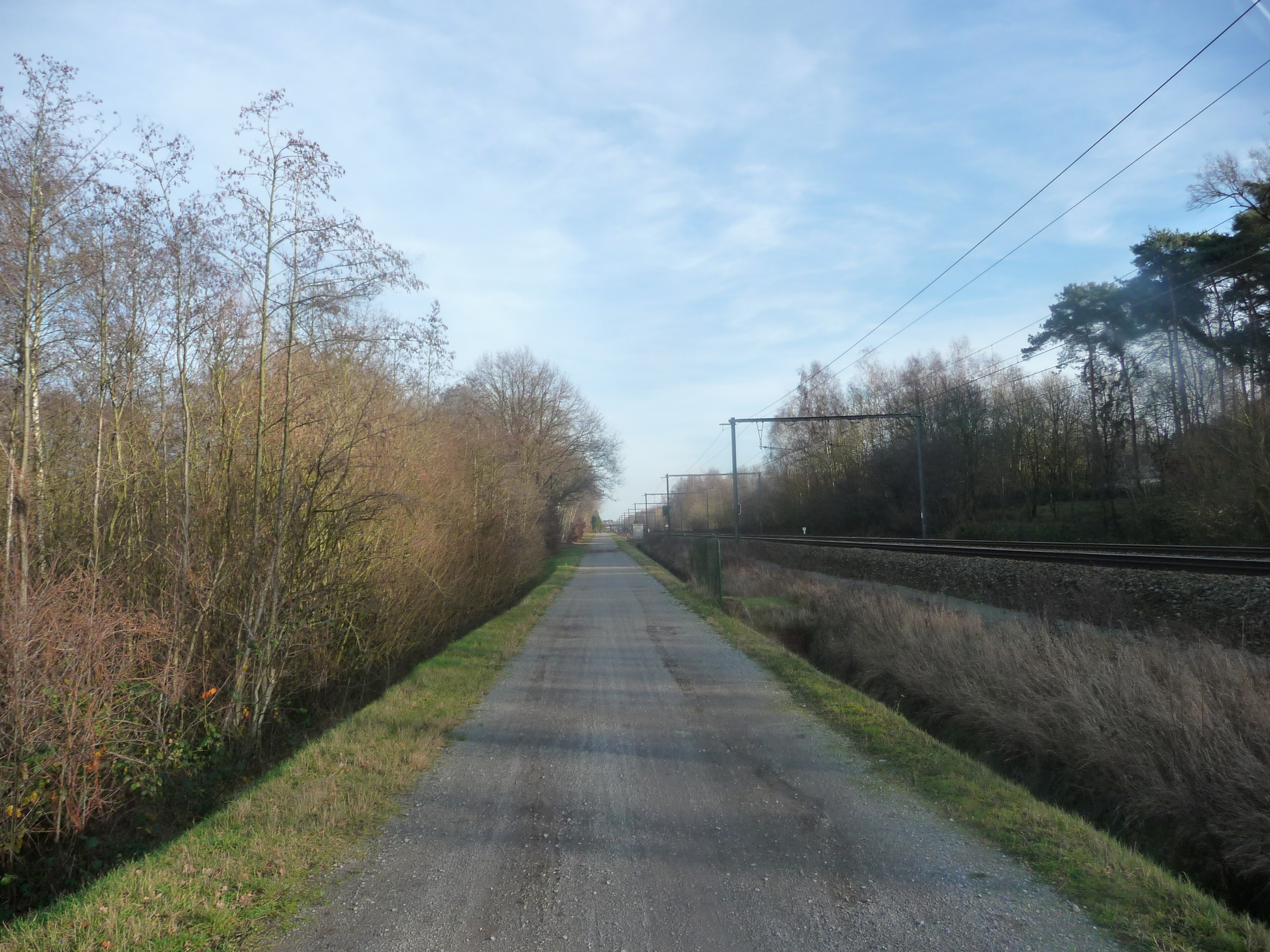 Leuven railway line