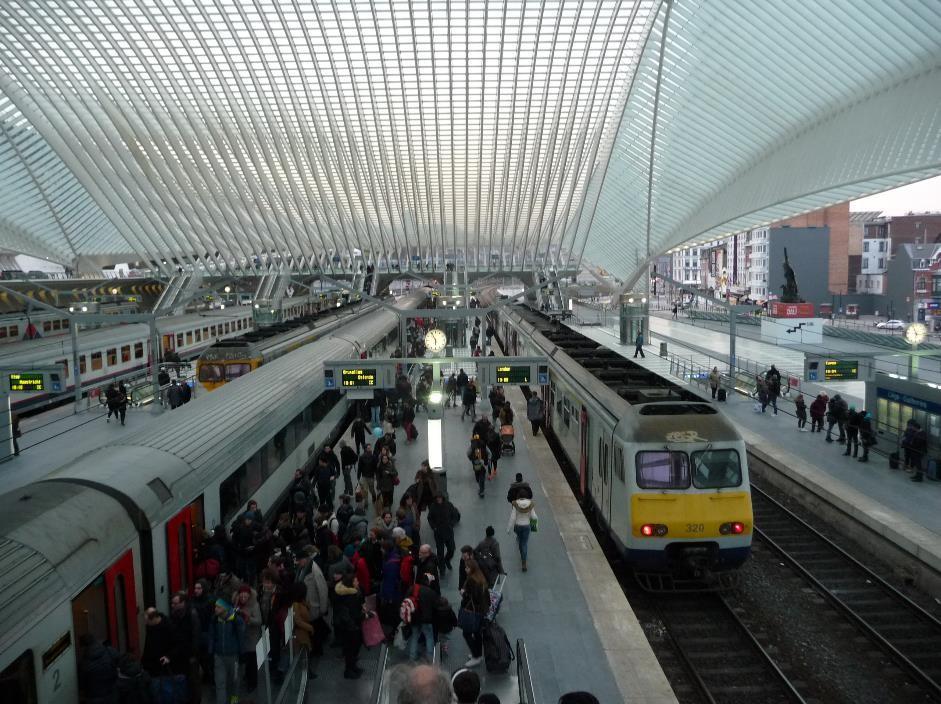 Liege railway station