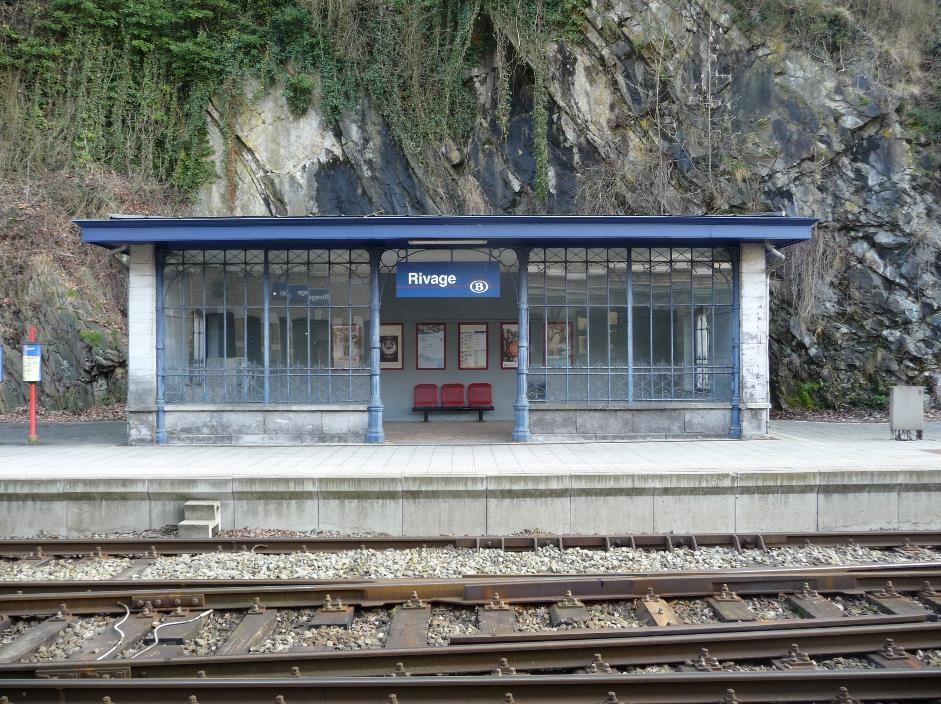 Rivage railway station