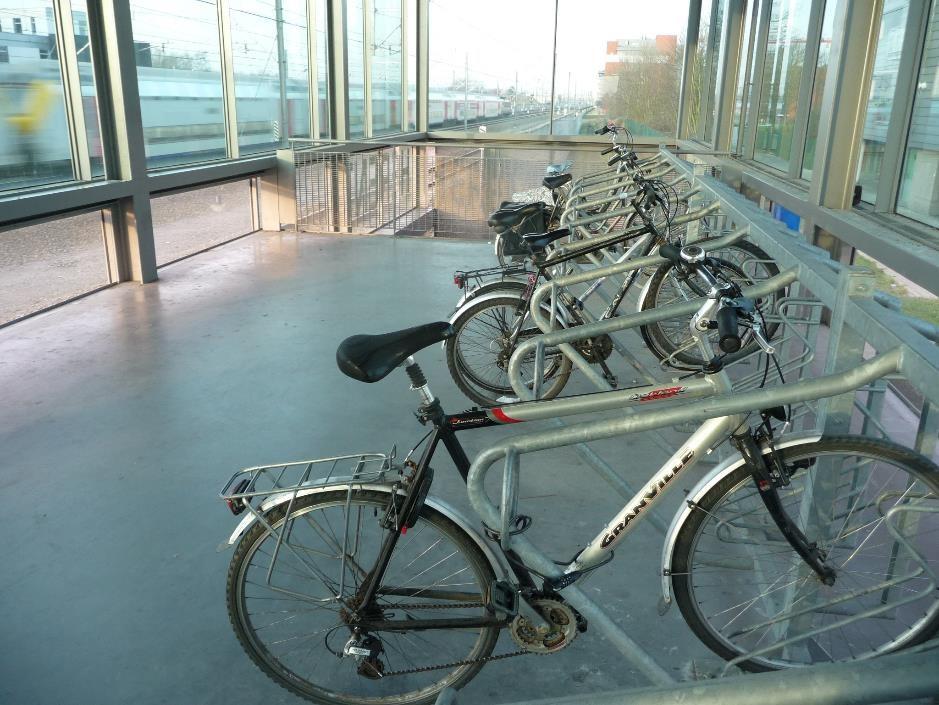 Bike shed Leuven railway station