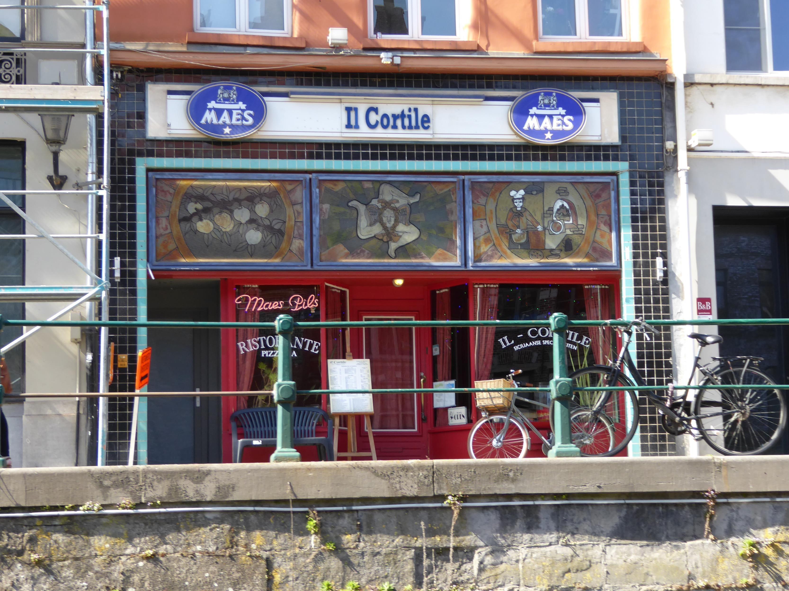 Pizza restaurant Il Cortile, Gent