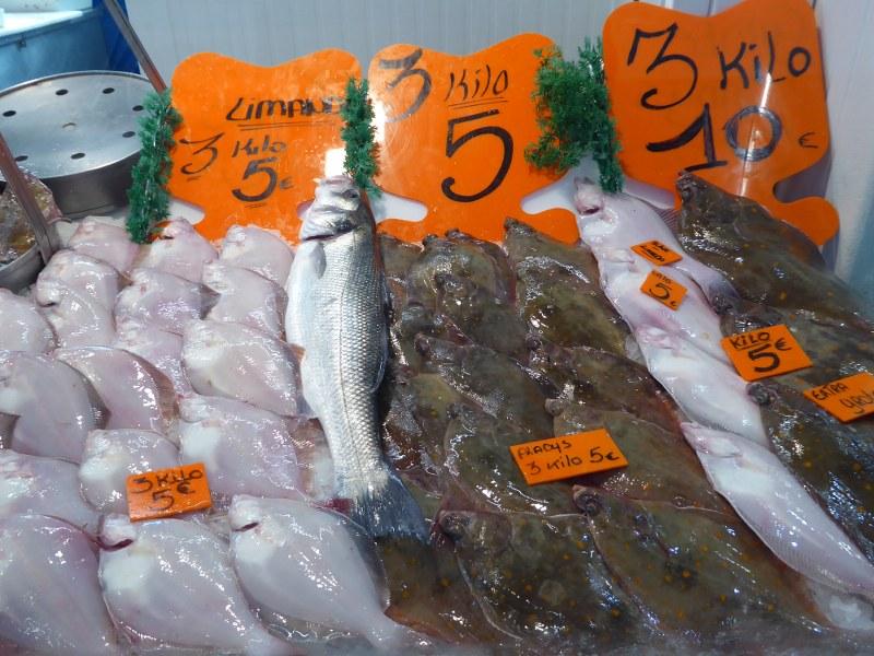 Fresh fish Oostende fish market