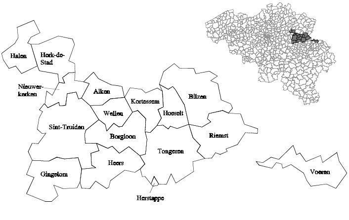 haspengouw-map