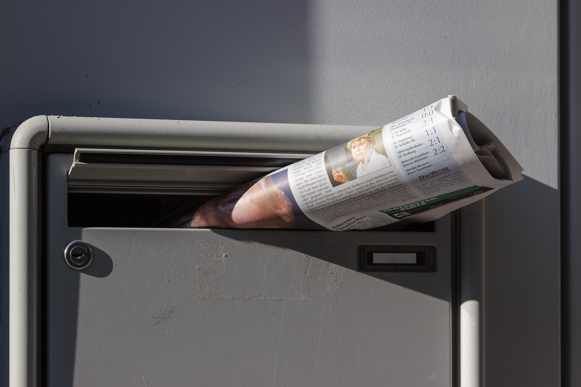 Newspaper editor