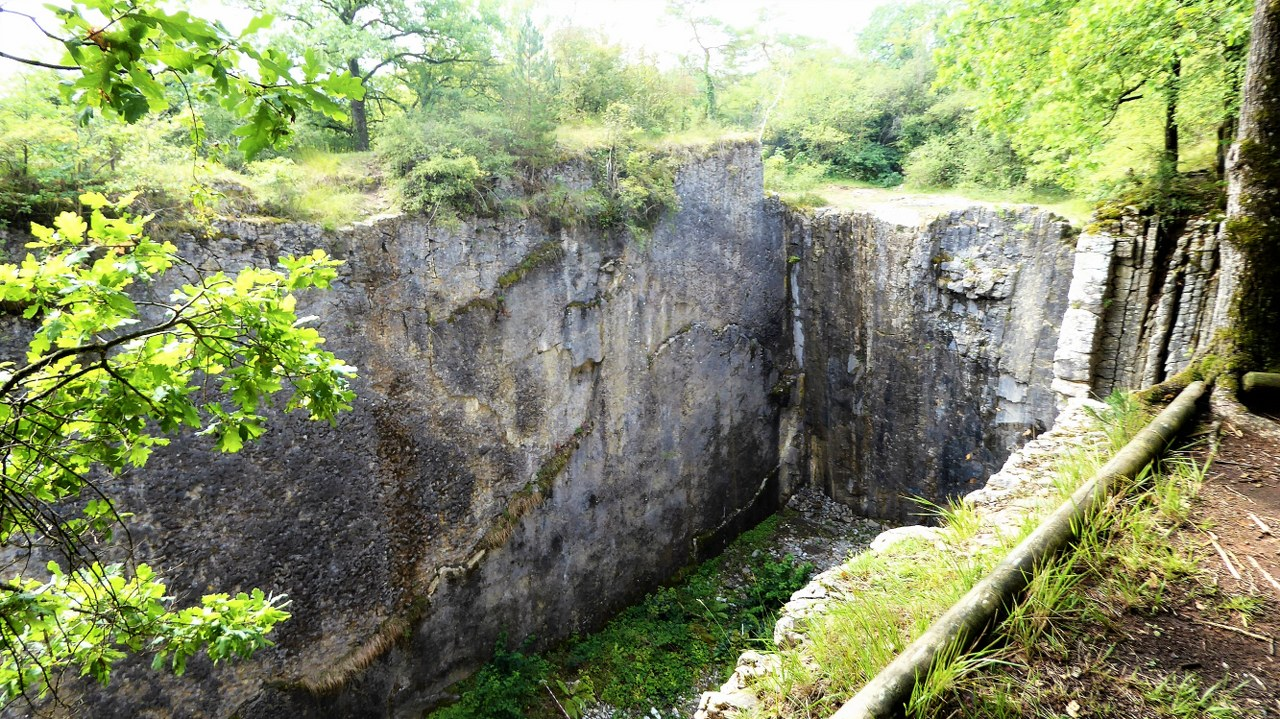 Quarry near Viroinval