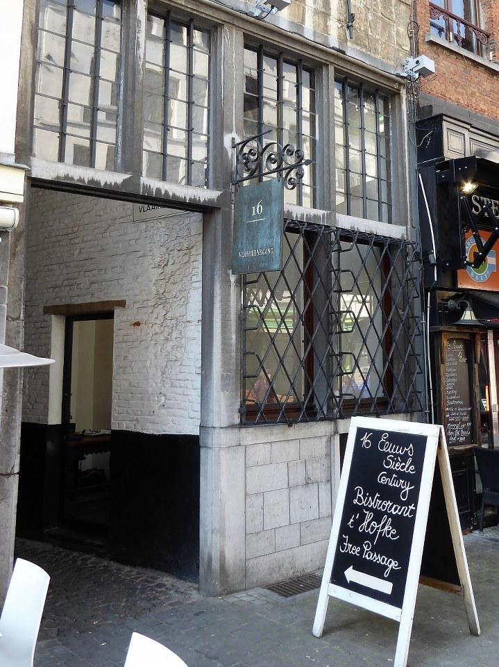 Vlaeykensgang Antwerp