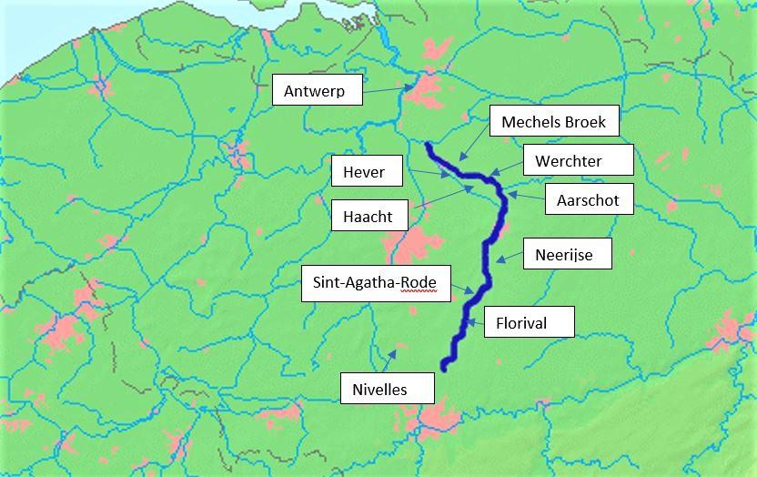 Dijle map 2