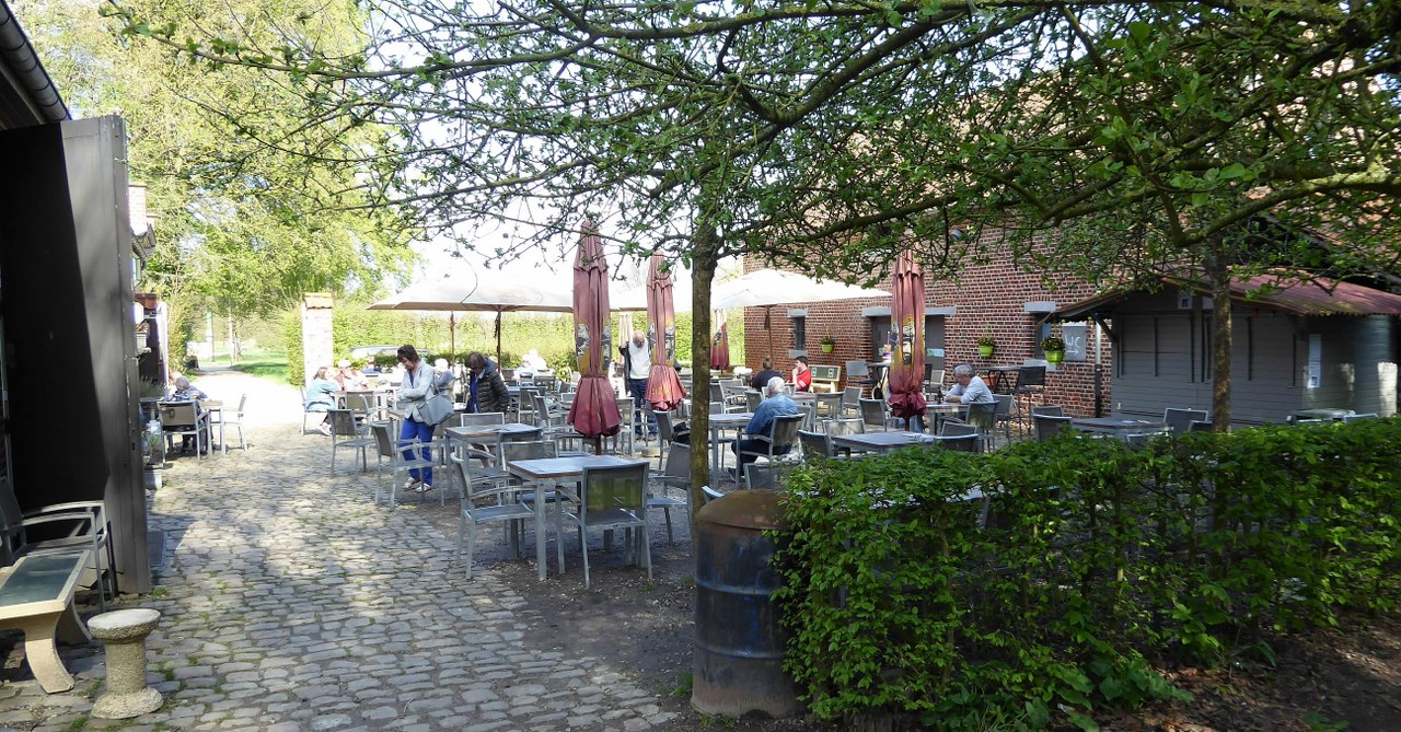 Brasserie Graaf van Egmond, Gaasbeek Castle