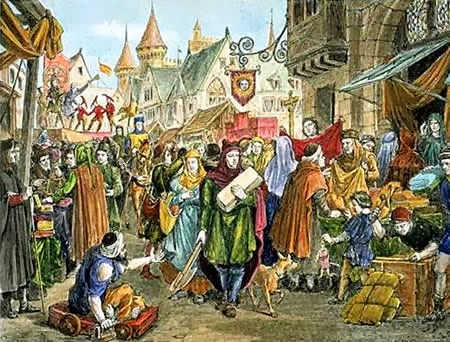 Fairs-Champagne played a key role in the medieval Flemish cloth industry