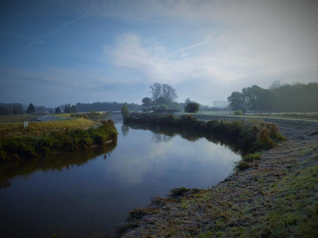 The River Dijle near Haacht