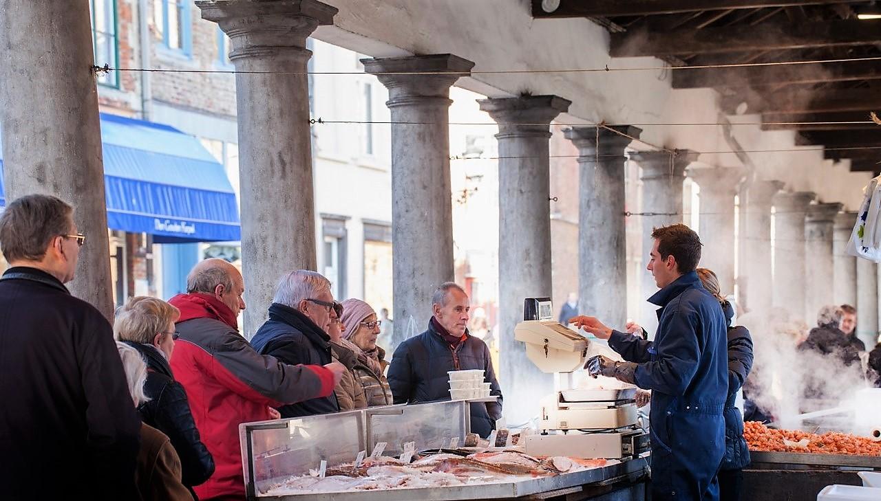 The Bruges Fish Market