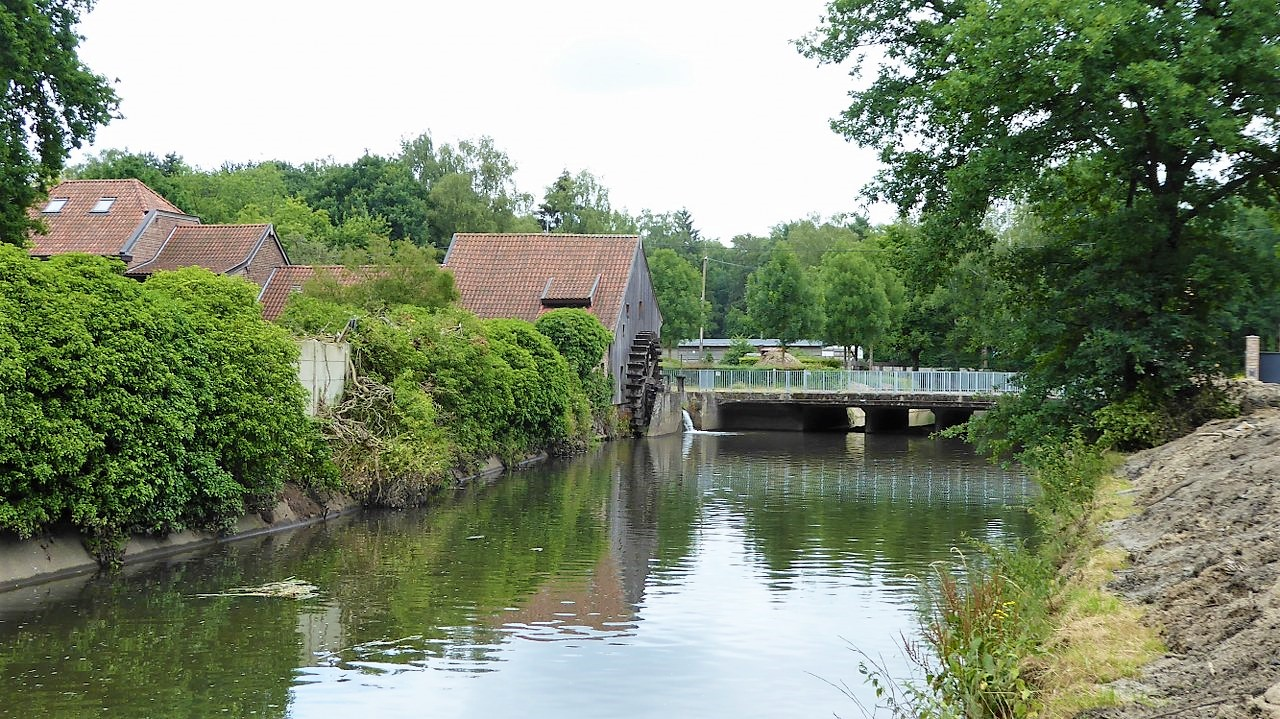 The old watermill on Slagmolenweg