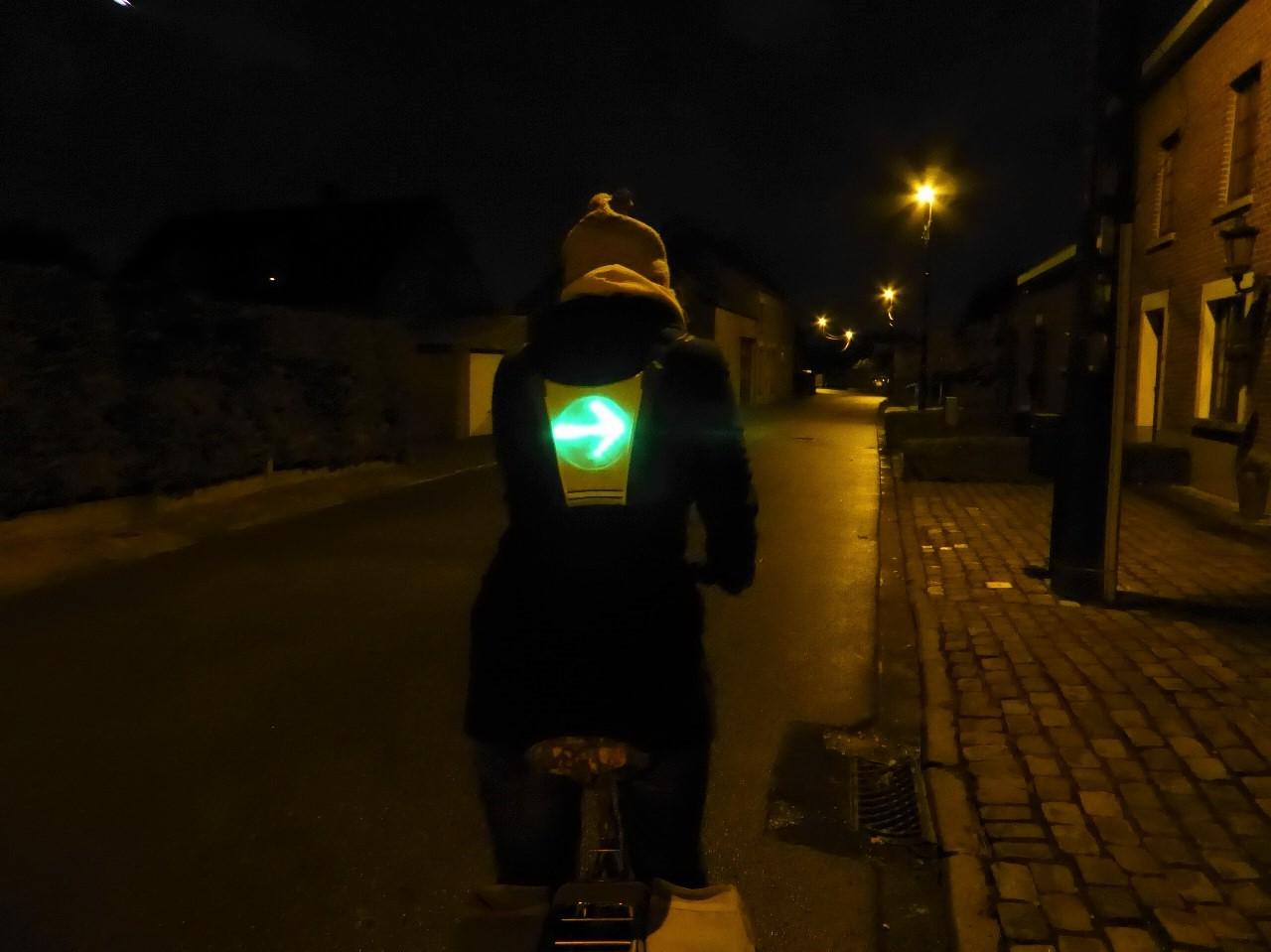 Dofix signalling vest for bikes