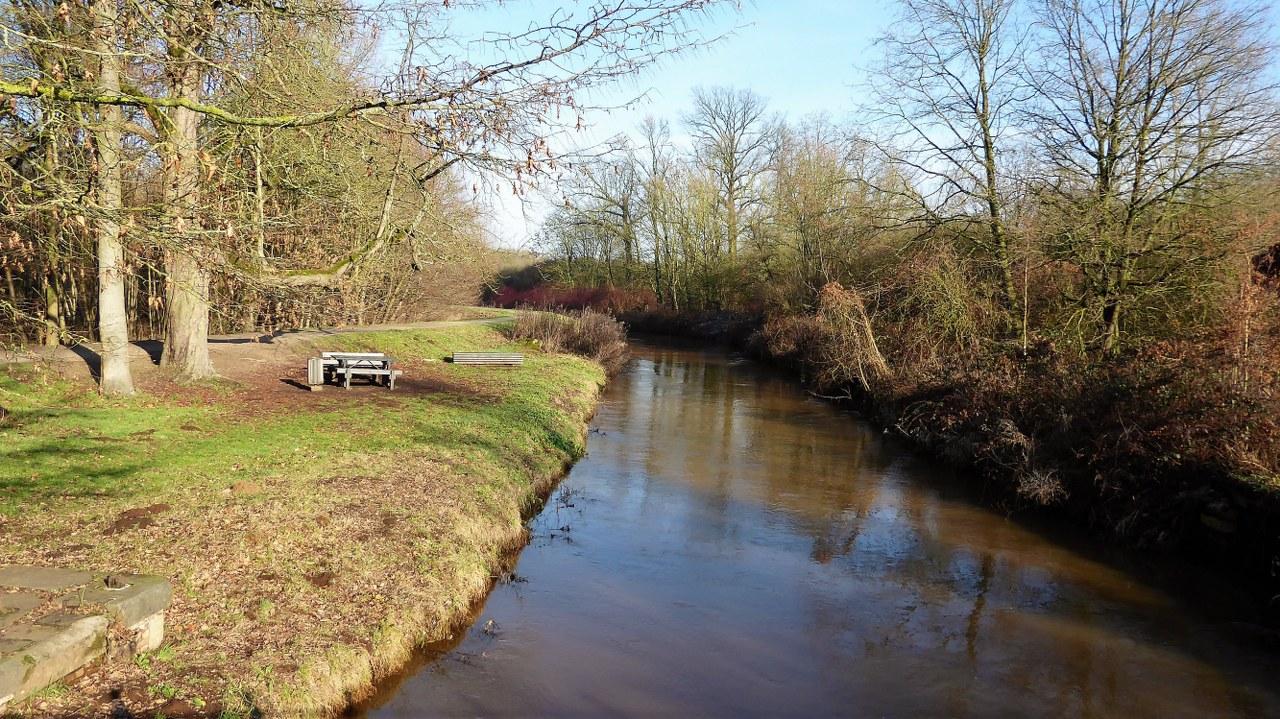 River Nete near Westerlo