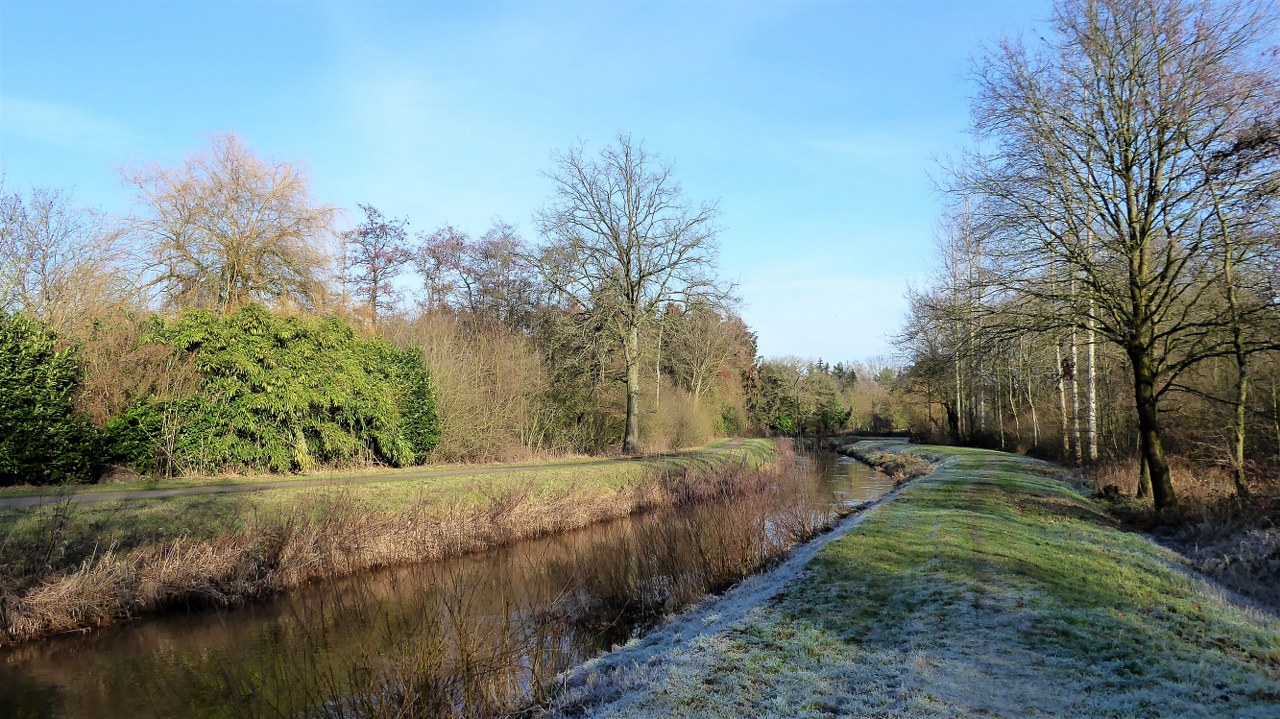 Walking around Westerlo along the River Nete