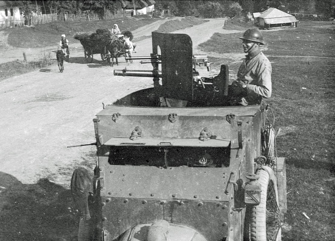 ACM armoured cars of the Belgian Army, 1916