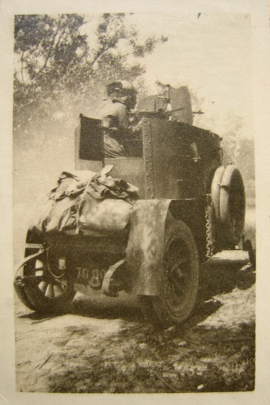 ACM armoured car in action on the Galician Front, summer 1916