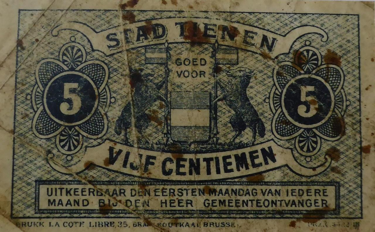 WW1 emergency coinage