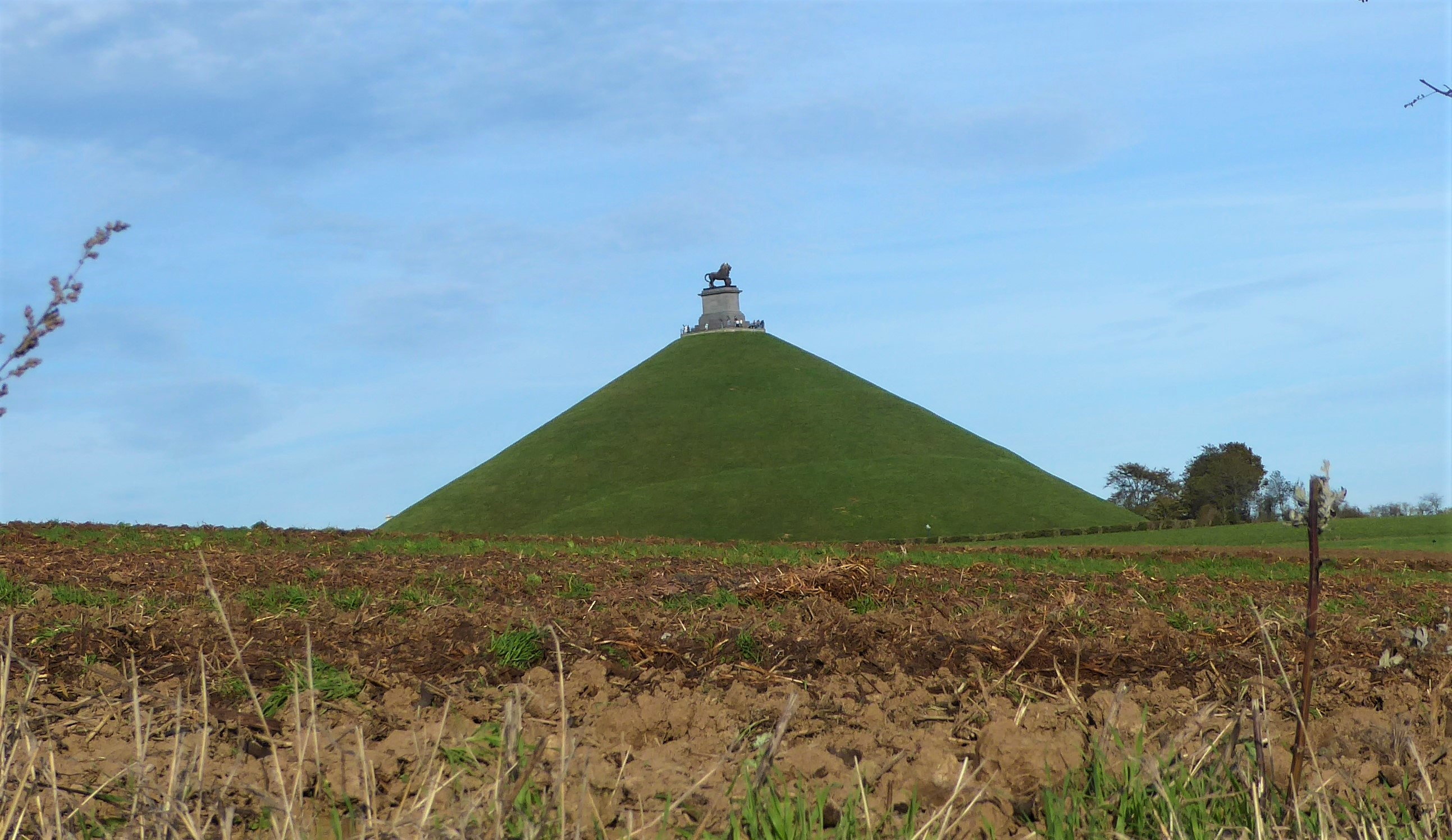 The Lion's Mound Waterloo