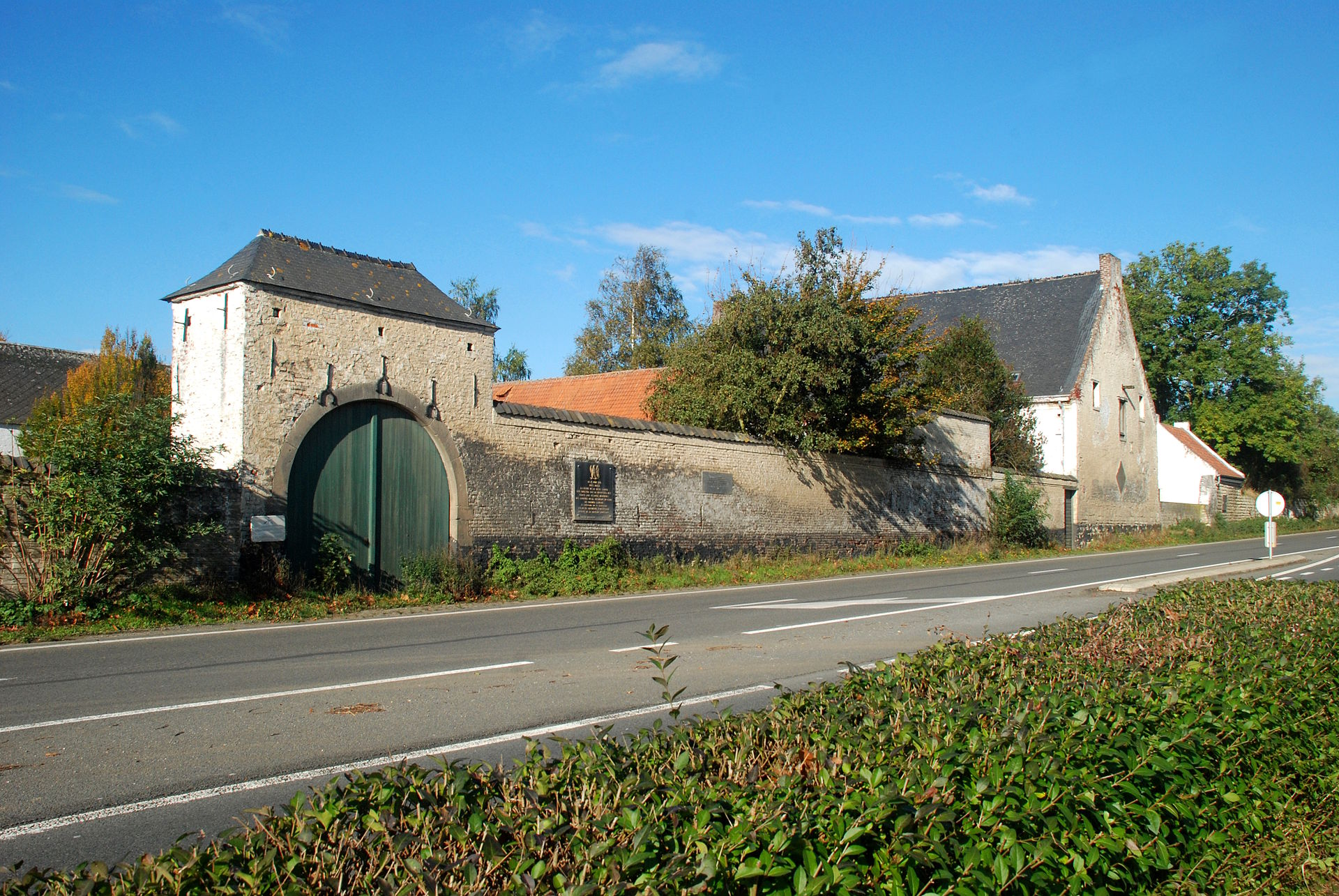La Haye Sainte Farm, Waterloo Battlefield