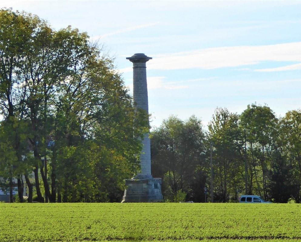 Victor Hugo Monument. Waterloo Battlefield