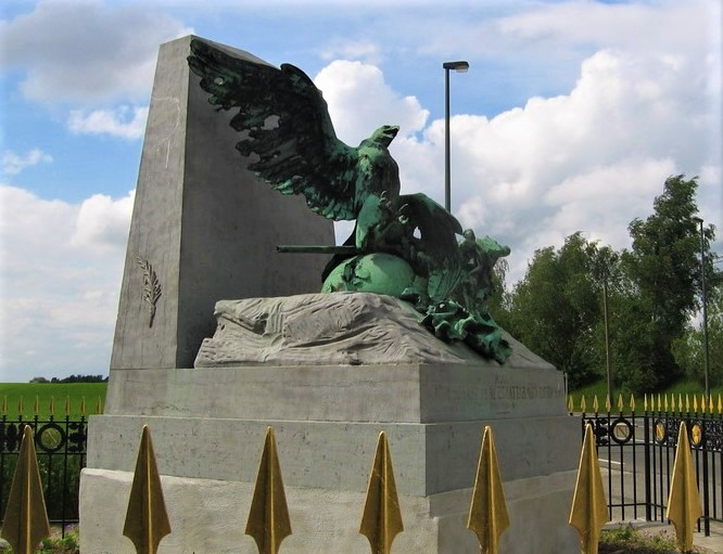 Wounded Eagle Monument, Waterloo Battlefield
