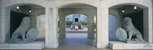 Menin Gate Lions Australian War Memorial Canberra