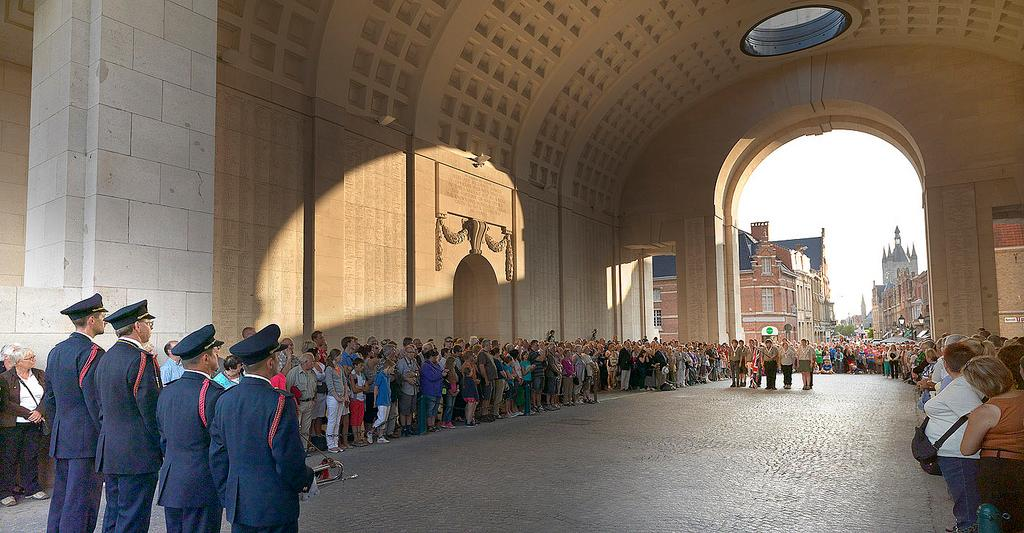Menin Gate Ypres and the Last Post