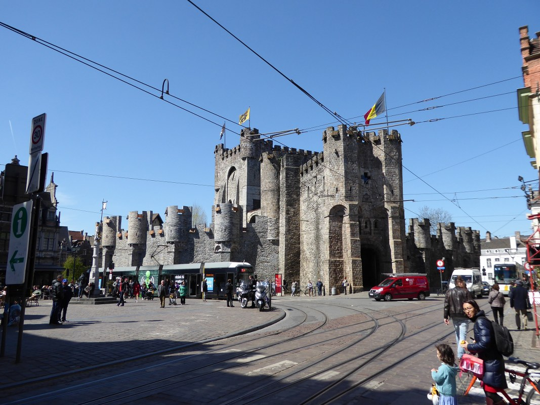 Gent Castle of the Counts