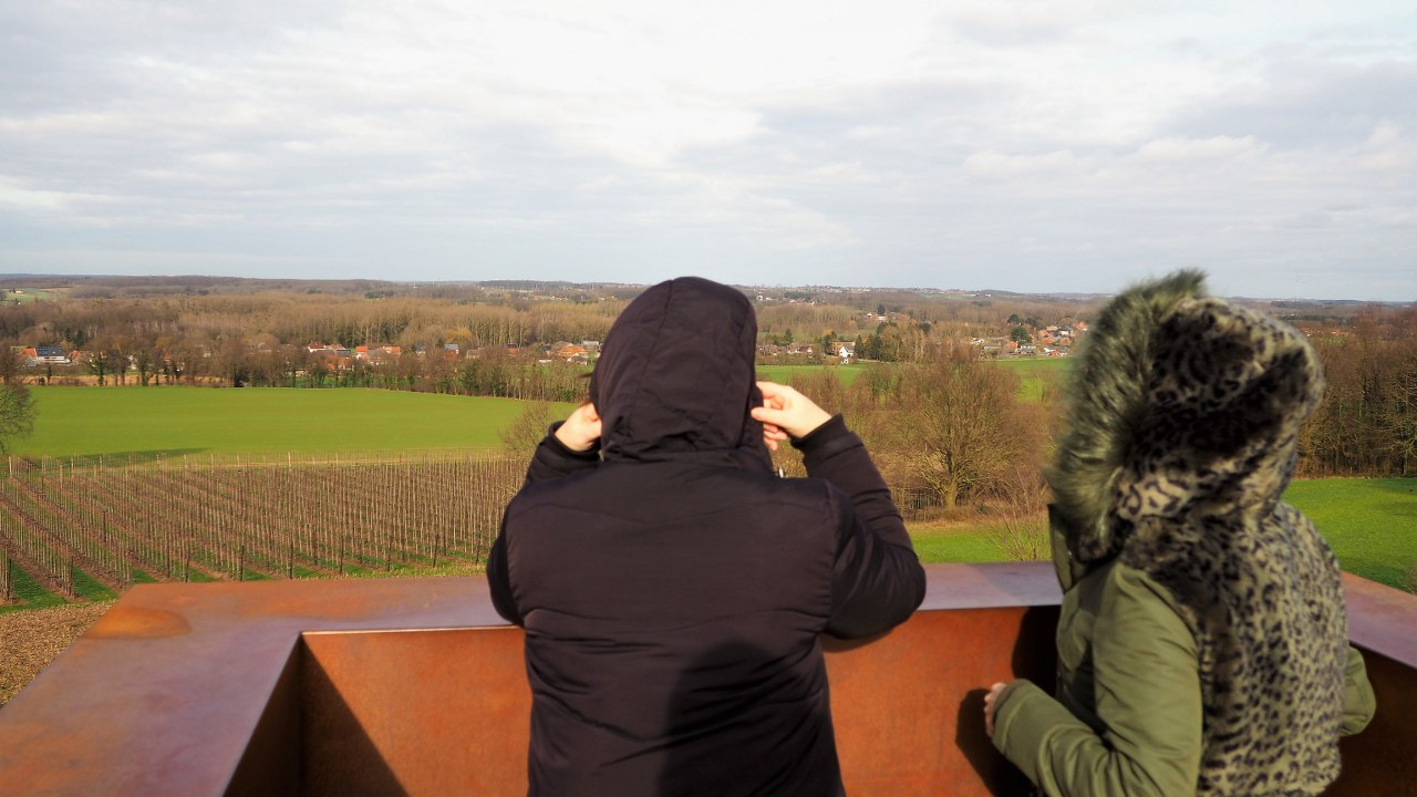The view from the top of the Vlooyberg Tower
