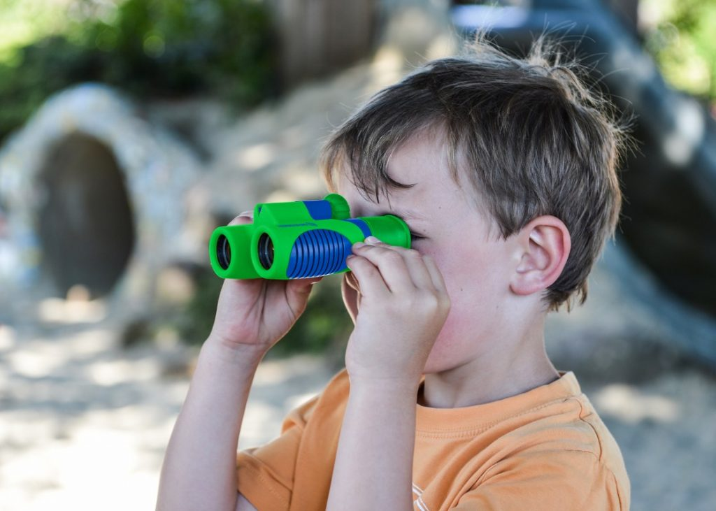 Buying binoculars for kids