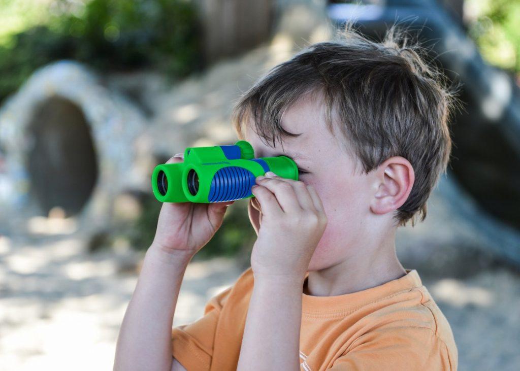 Buying binoculars for kids