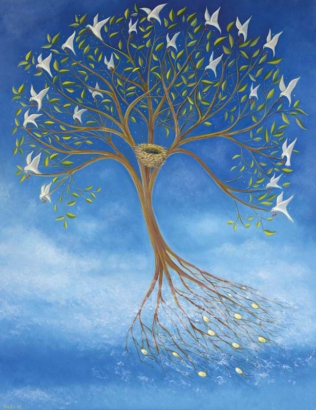 The Flying Tree by Tone Aanderaa