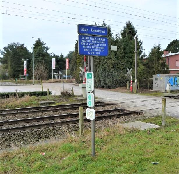 April 19 1943 street sign Boortmeerbeek