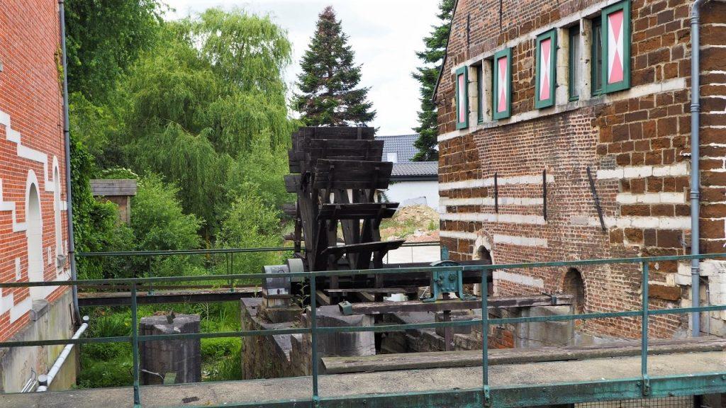 The old watermill on the River Demer in Testelt