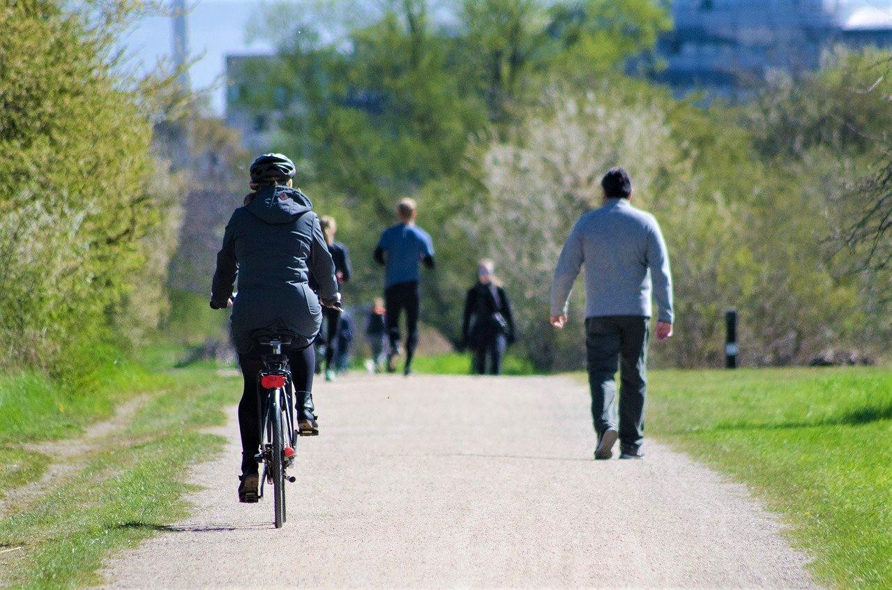 walk or cycle the Promenade Verte