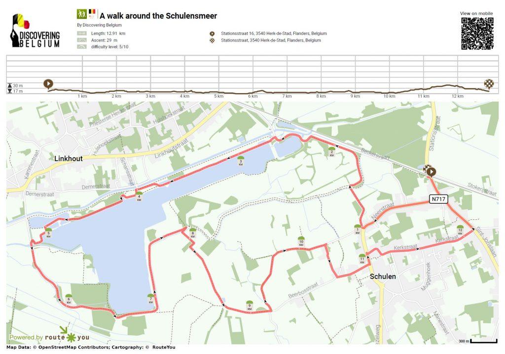A longer 13k walk around the Schulensmeer