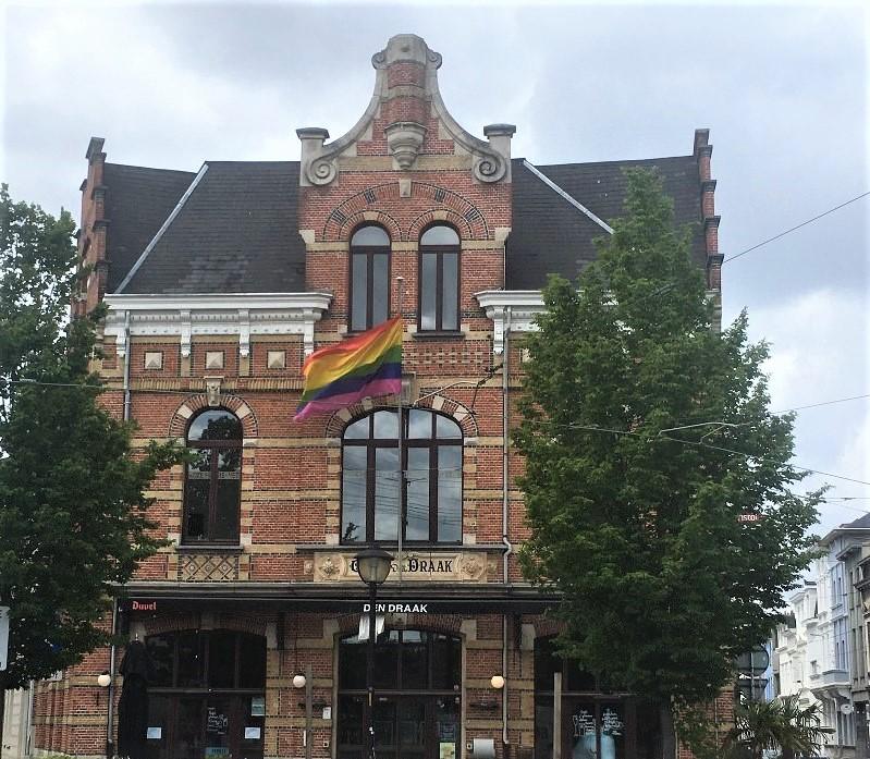 Den Draak Cafe à Anvers