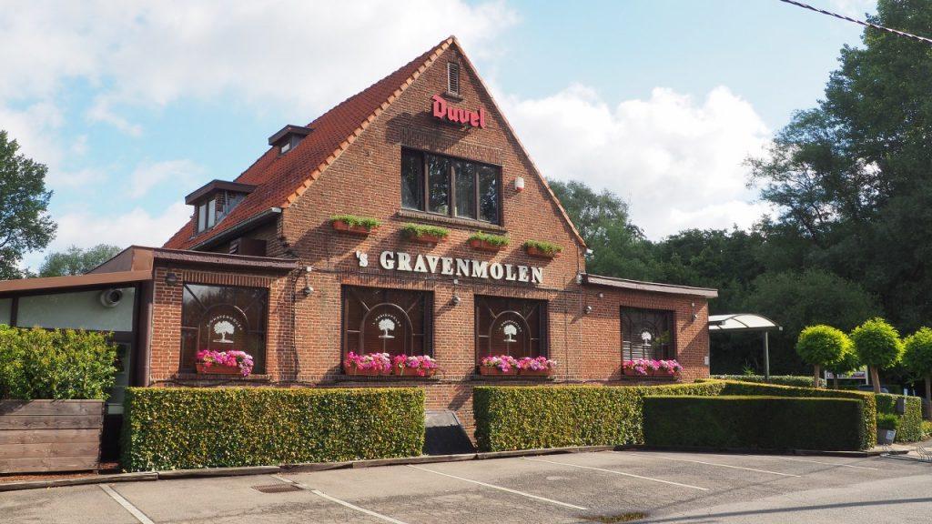 s'Gravenmolen brasserie in Grimbergen